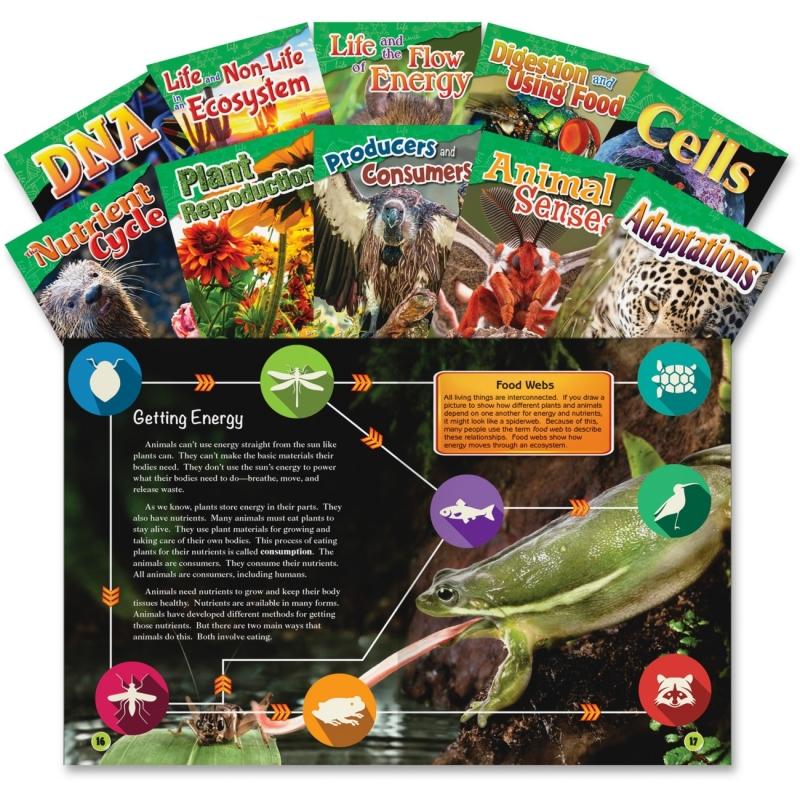 Shell 4&5 Grade Life Science Books 23426 SHL23426