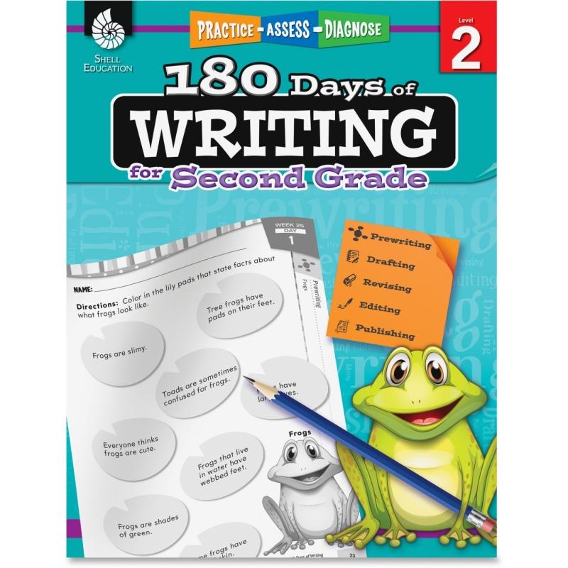 Shell 2nd Grade 180 Days of Writing Book 51525 SHL51525