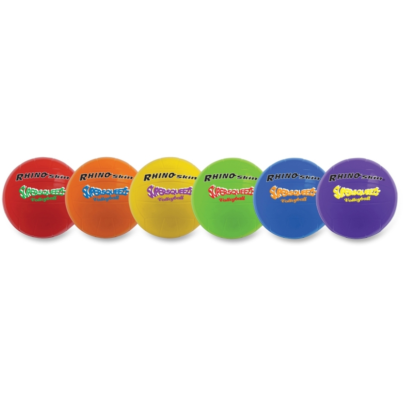 "Champion Sports Super Squeeze 7"" Volleyball Set SQVSET CSISQVSET"