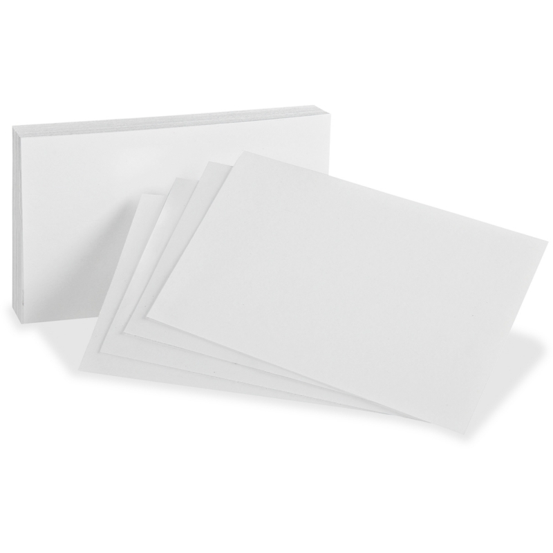 Oxford Blank Index Cards 10013 OXF10013