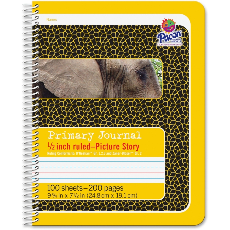 "Pacon 1/2"" Short Way Ruled Composition Book 2430 PAC2430"