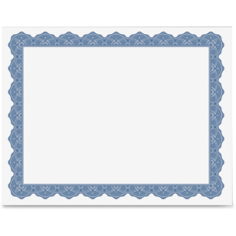 Geographics Blank Parchment Certificate 40725OD GEO40725OD