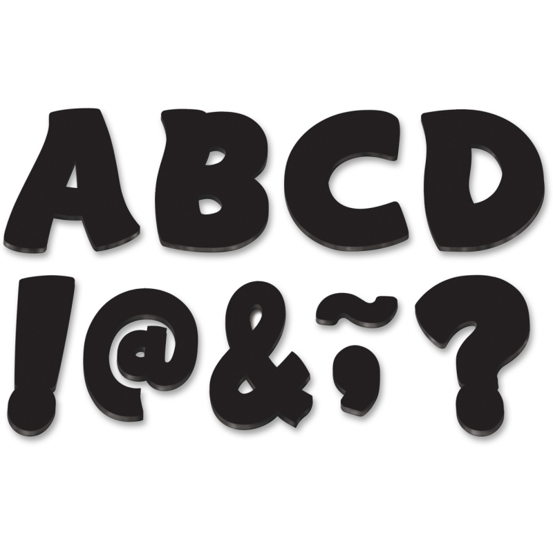 """Teacher Created Resources 3"""" Funtastic Magnet Letters 77214 TCR77214"""