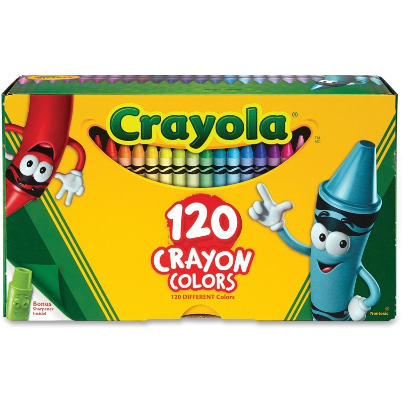 Crayola 120 Crayons 526920 CYO526920