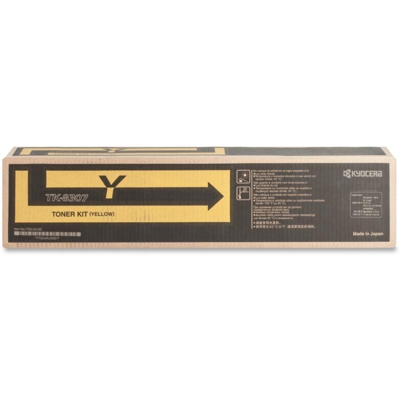 Kyocera 3050/3550 Toner Cartridge TK8307Y KYOTK8307Y