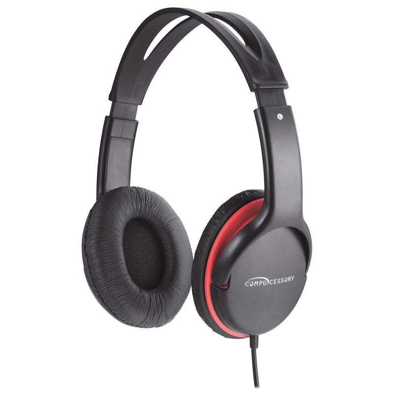 Compucessory Stereo Headset w/ Volume Control 15153 CCS15153