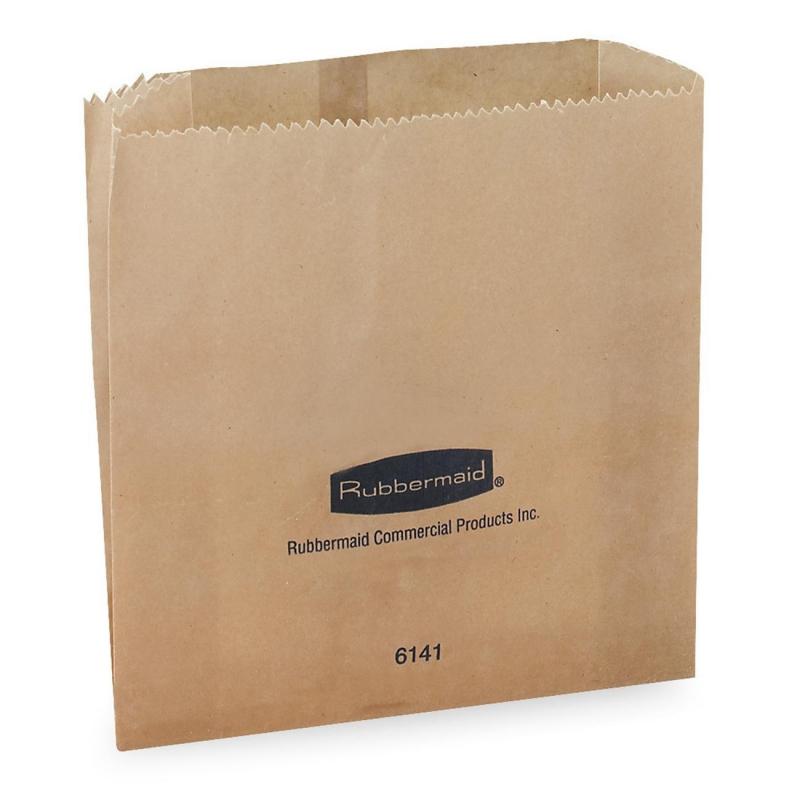 Rubbermaid Waxed Receptacle Bag 614100 0000 RCP614100