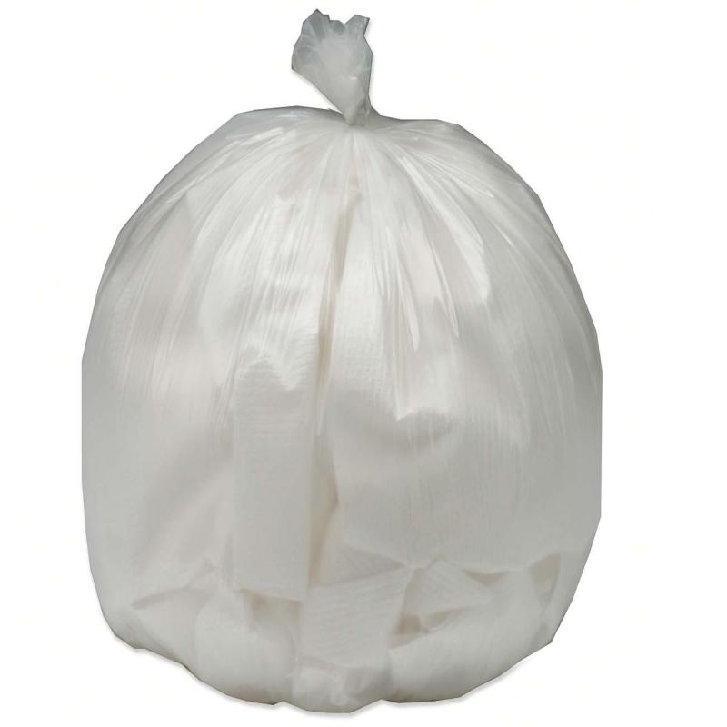SKILCRAFT Heavy Duty Plastic Trash Bag 8105-01-150-6256 NSN1506256