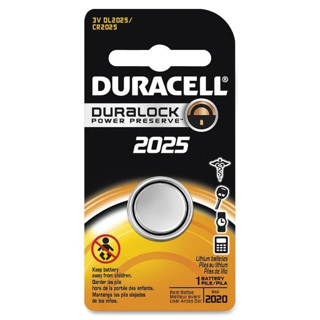 Duracell Lithium General Purpose Battery DL2025BPK DURDL2025BPK