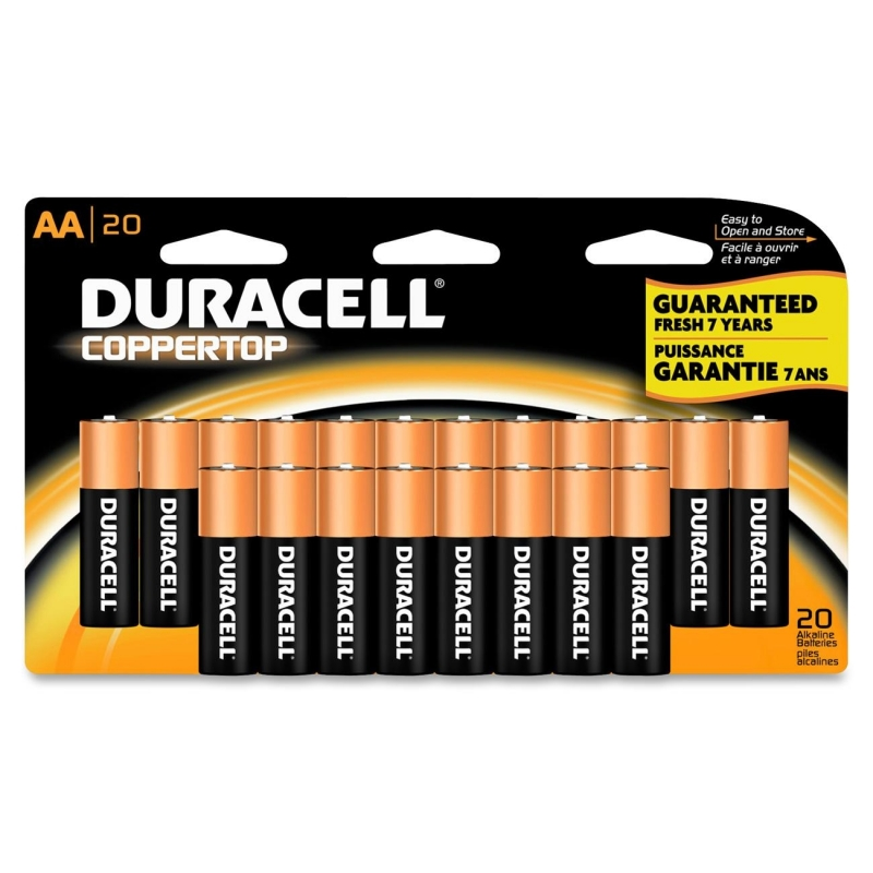 Duracell CopperTop General Purpose Battery MN1500B20 DURMN1500B20