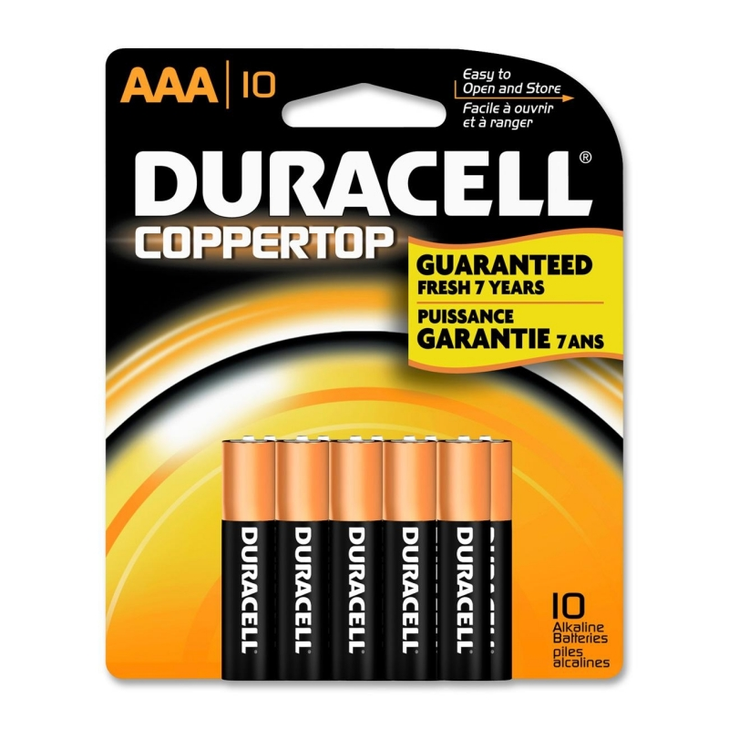Duracell CopperTop General Purpose Battery MN2400B10Z DURMN2400B10Z MN1500B10Z