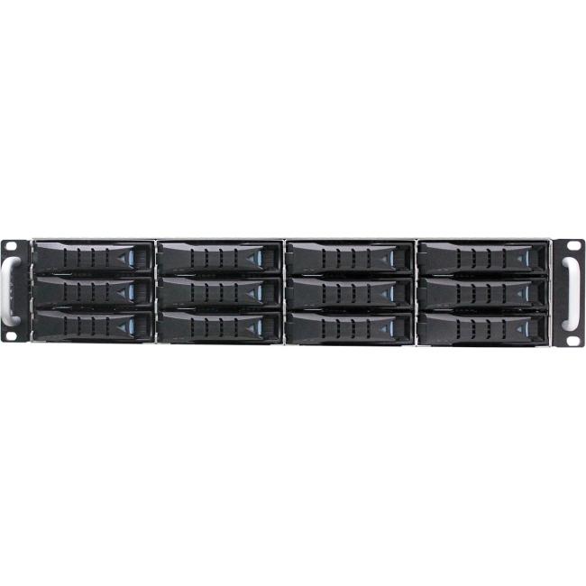 AIC 2U 12-Bay 12Gb/s SAS JBOD Enclosure With Dual Hot Swappable Expanders SSG-JBSA32S-2123T-55RP-A J2012