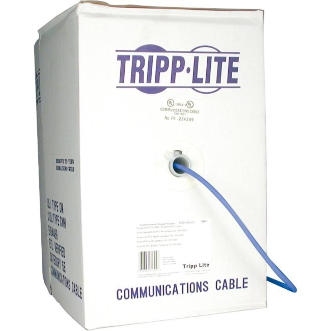 Tripp Lite 1000ft Bulk Cat5e Blue N020-01K-BL