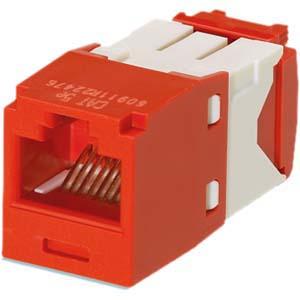Panduit Mini-Com TX5e UTP Connector CJ5E88TGRD