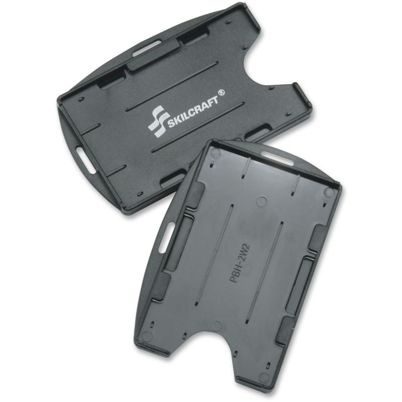 SKILCRAFT Dual Sided ID Holder 8455016258998 NSN6258998