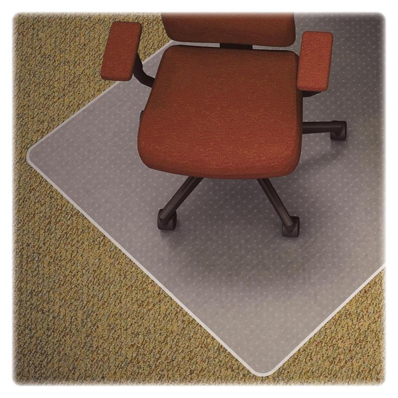 Lorell Medium-pile Carpet Chairmats 82824 LLR82824