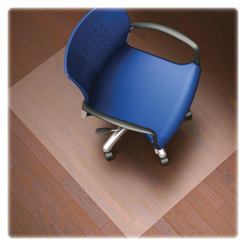Lorell Nonstudded Design Hardwood Surface Chairmat 82825 LLR82825