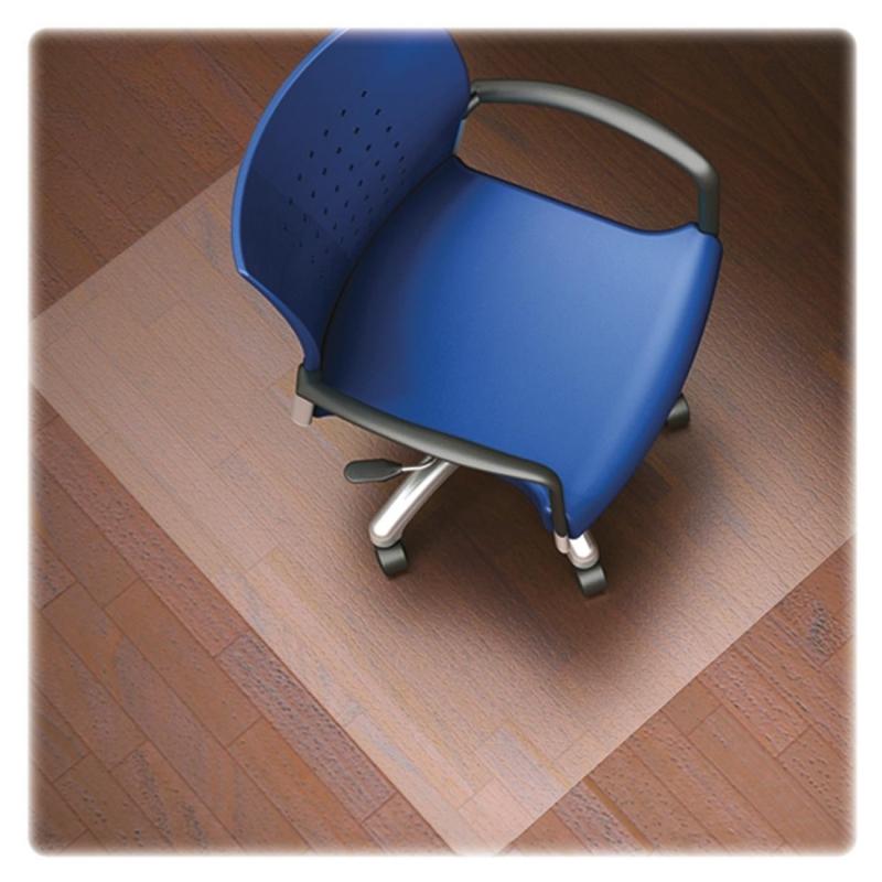 Lorell Nonstudded Design Hardwood Surface Chairmat 82826 LLR82826