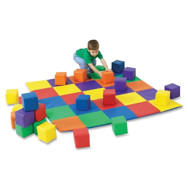 Childrens Factory Patchwork Crawly Mat 321132 CFI321132