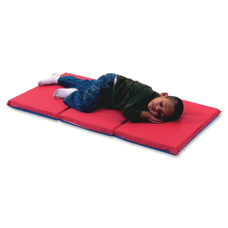 Childrens Factory 3-Fold Infection Control Rest Mat 400524RB CFI400524RB