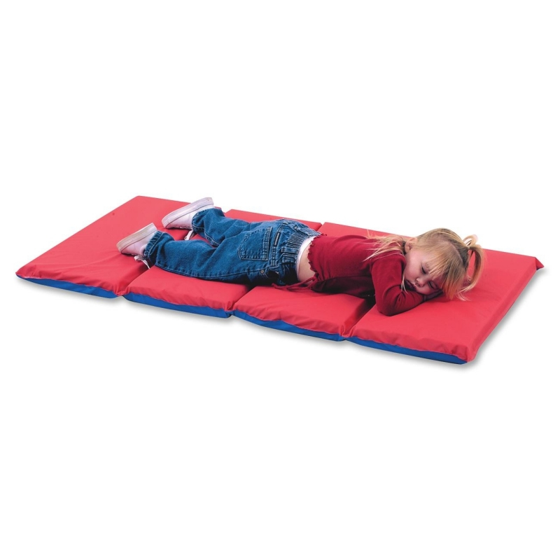 Childrens Factory 4-Fold Infection Control Rest Mat 400525RB CFI400525RB
