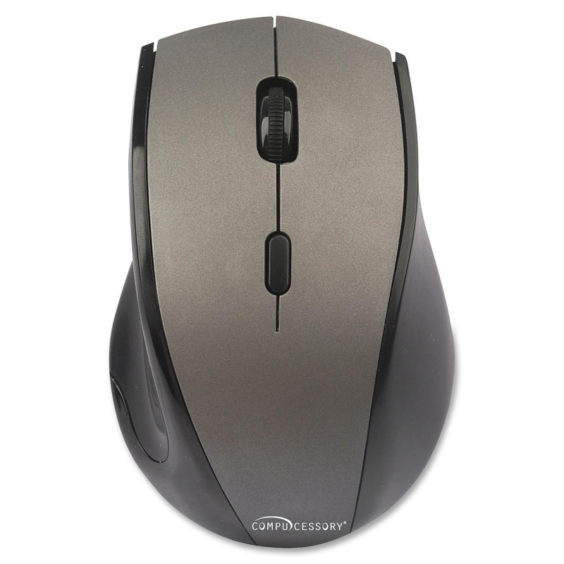 Compucessory Wireless Mouse, 2.4G, Gray 51556 CCS51556