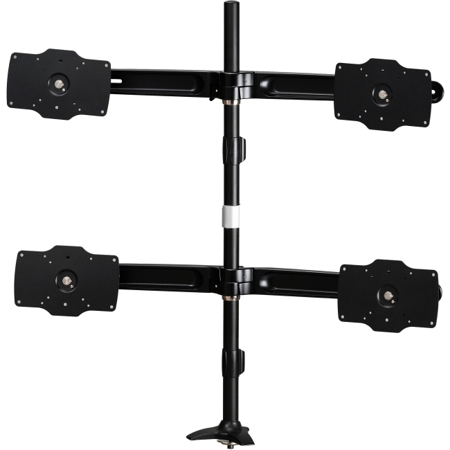 "Amer Mounts Grommet Based Quad Monitor Mount. Up to 32"", 26.5lb monitors AMR4P32"