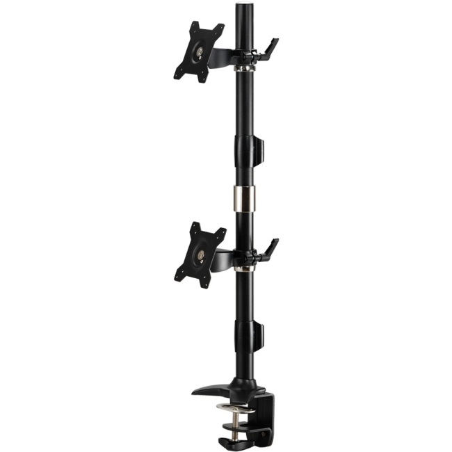 Amer Mounts Dual Vertical Monitor Mount Clamp-24 AMR2CV