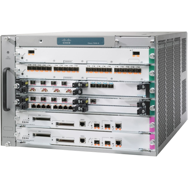 Cisco Router Chassis CISCO7606-S-RF 7606-S