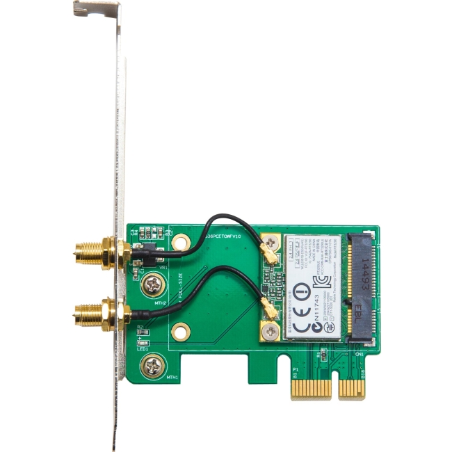 IO Crest Wi-Fi/Bluetooth Combo Adapter SY-PEX23063