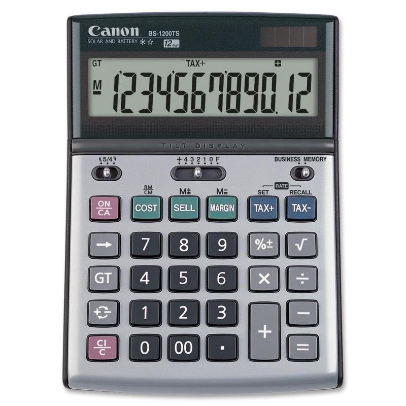 Canon Desktop Calculator BS1200TS CNMBS1200TS BS-1200TS
