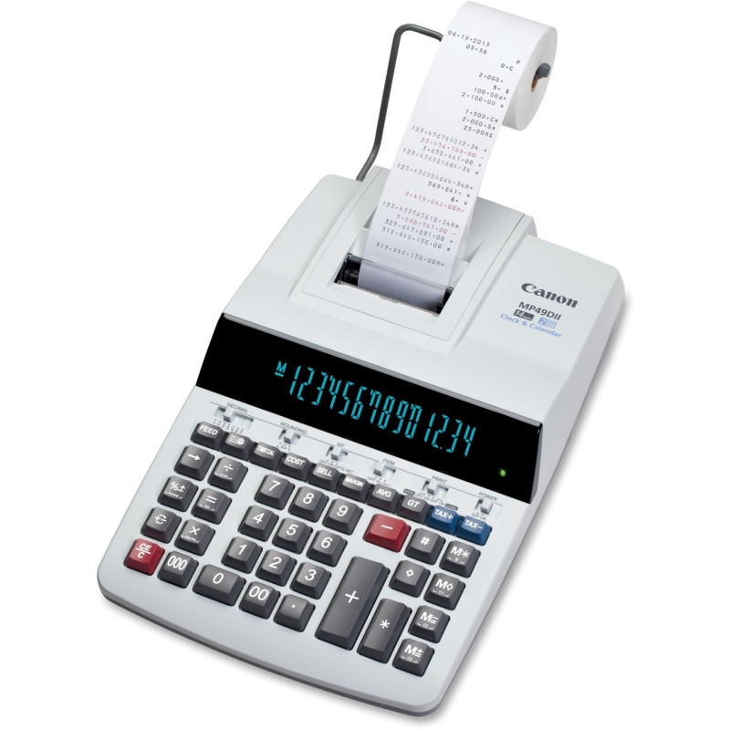 Canon Desktop Printing Calculator MP49DII CNMMP49DII