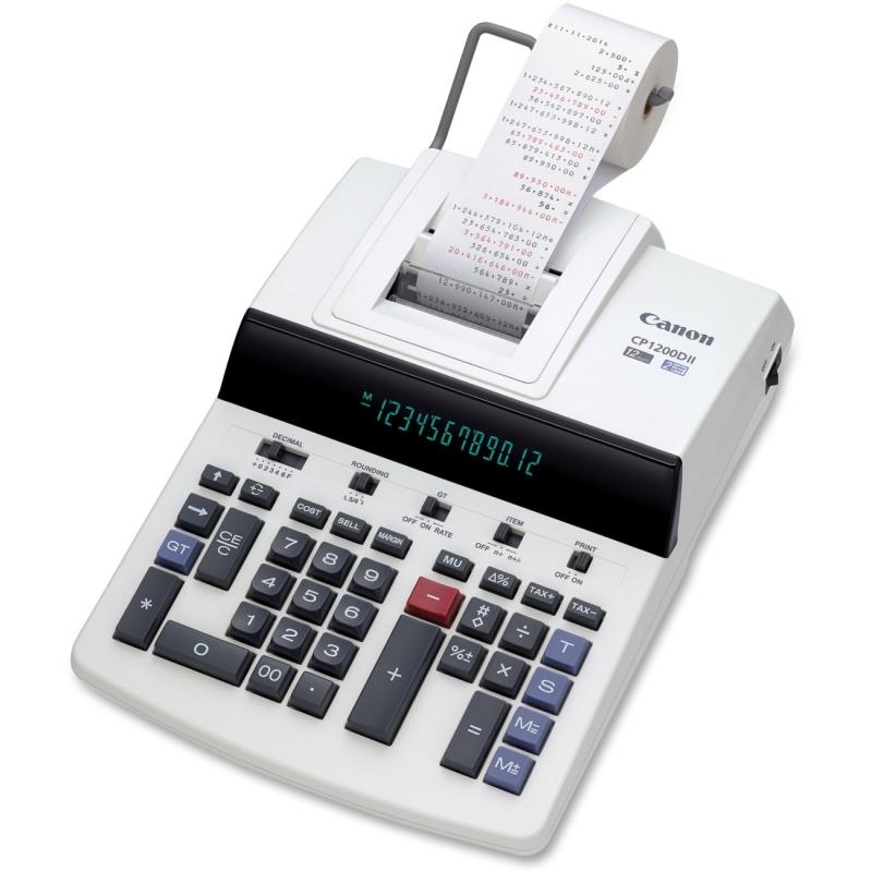 Canon Commercial Desktop Calculator CP1200DII CNMCP1200DII
