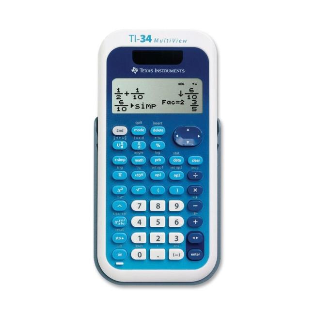 Texas Instruments TI34 MultiView Scientific Calculator TI-34MV TEXTI34MV TI-34