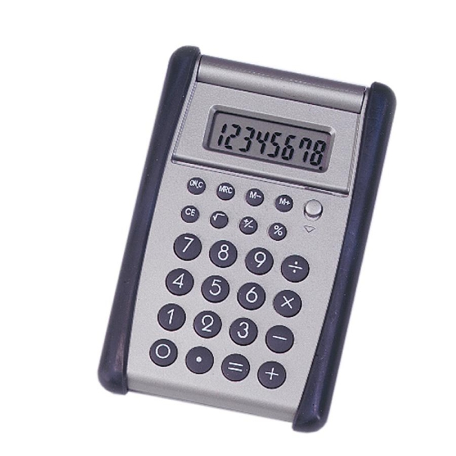 SKILCRAFT 8-Digit Flip-up Calculator 7420-01-484-4559 NSN4844559