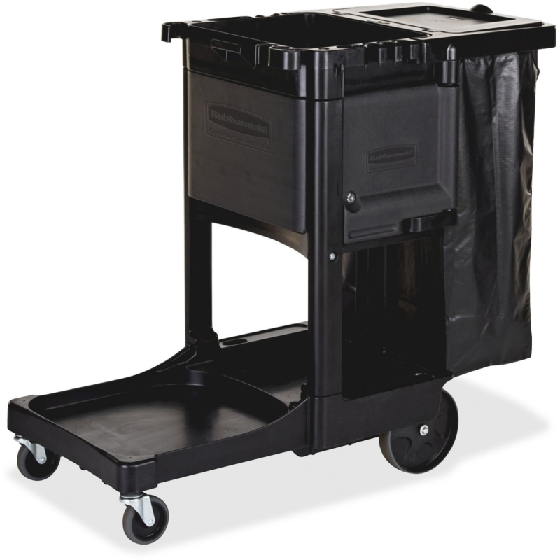 Rubbermaid Executive Janitor Cleaning Cart 1861430 RCP1861430