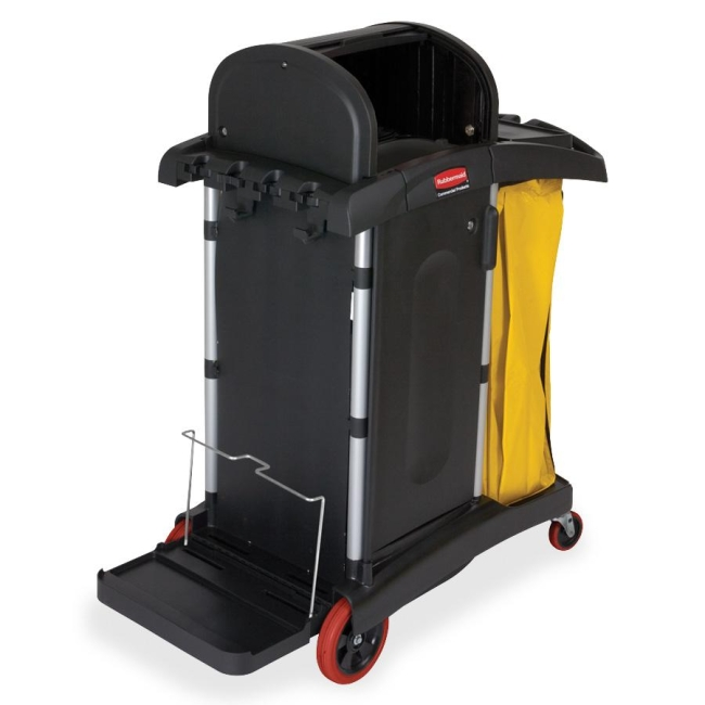 Rubbermaid High Security Cleaning Cart 9T7500 RCP9T7500
