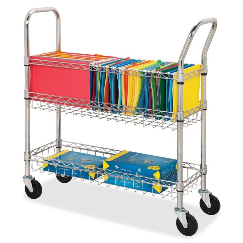 Lorell Wire Mail Cart 84857 LLR84857