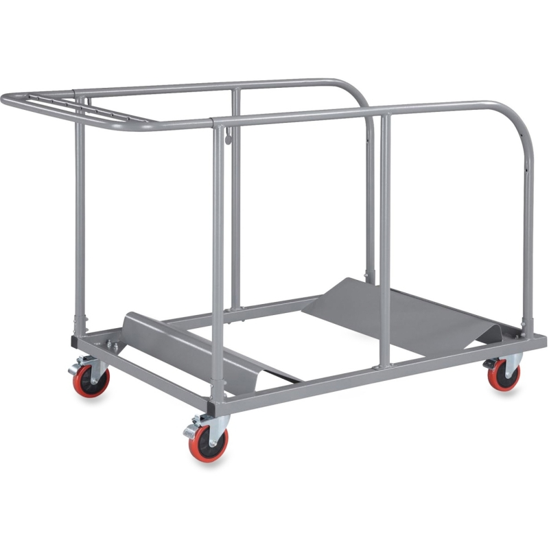 Lorell Round Planet Table Trolley Cart 65955 LLR65955