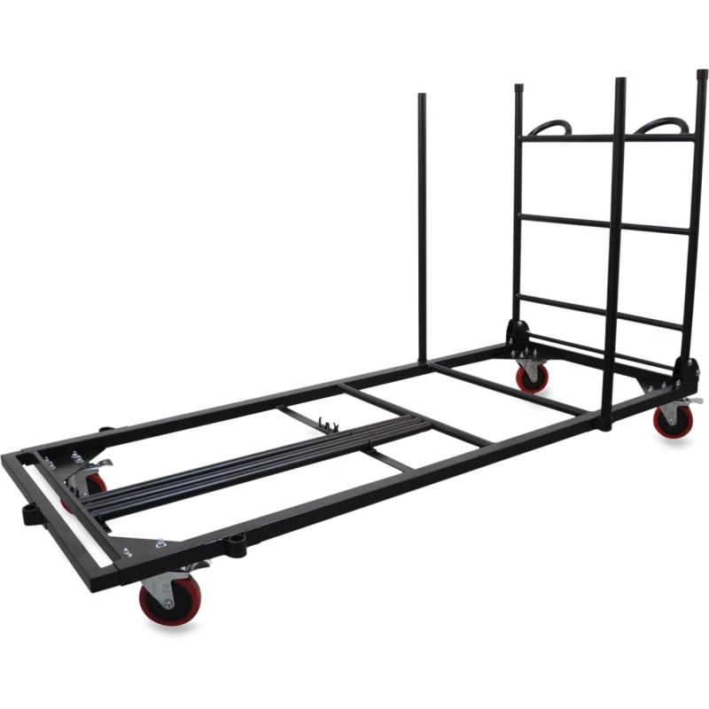 Lorell Blow Mold Rectangular Table Trolley Cart 65956 LLR65956