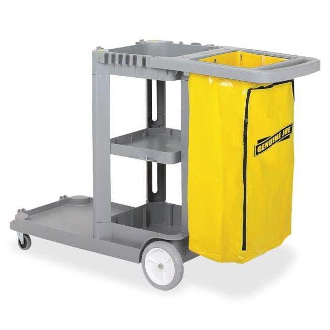Genuine Joe Workhorse Janitor's Cart 02342 GJO02342