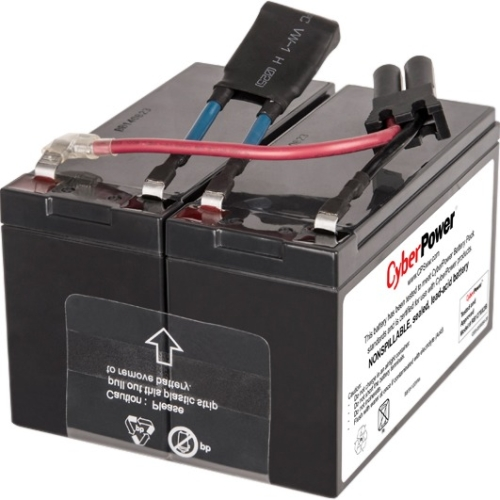 CyberPower RB1290X2B UPS Replacement Battery Cartridge for PR750LCD RB1270X2B