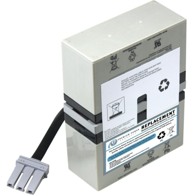 Premium Power Products Compatible Sealed Lead Acid Battery Replaces APC SLA32-ER