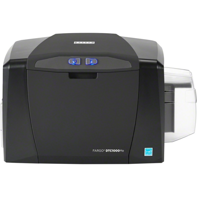 HID Monochrome ID Card Printer / Encoder 53200 DTC1000ME