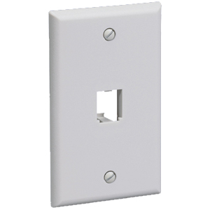 Panduit 1 Socket Mini-Com Classic Faceplate CFP1IW