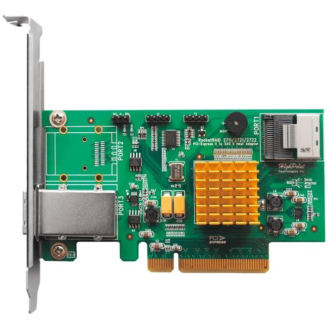 HighPoint RocketRAID 8-port SAS RAID Controller RR2721 2721