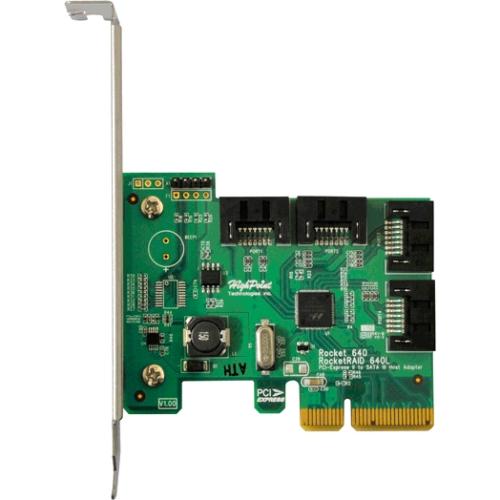 HighPoint RocketRAID Serial ATA Controller RR640L 640L