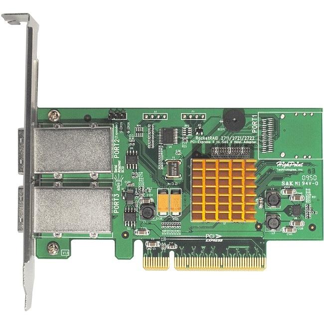 HighPoint RocketRAID 8-port SAS RAID Controller RR2722 2722