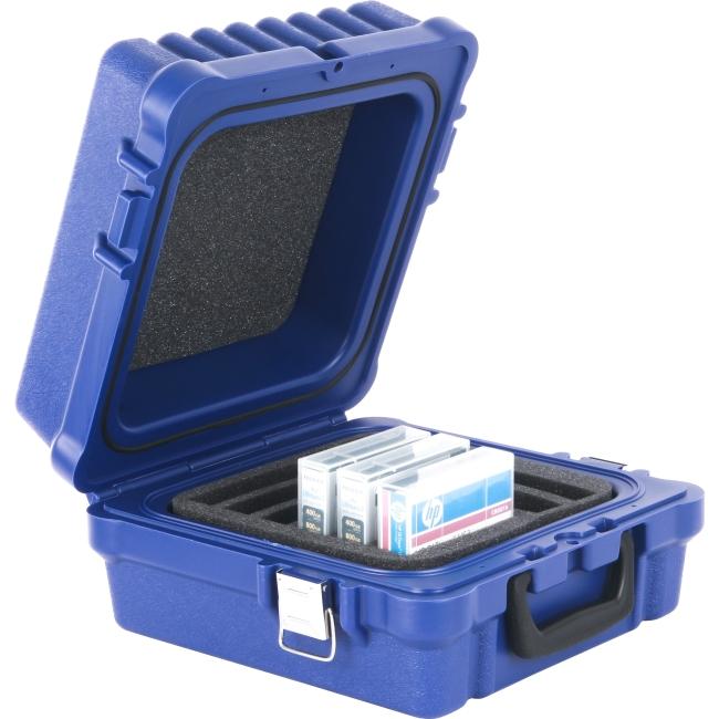 Turtle LTO / DLT / RDX-10 Blue, Waterproof, Foam Slots 01-679103