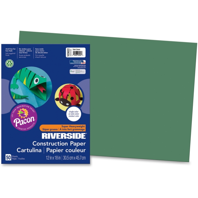 Pacon Riverside Groundwood Construction Paper 103622 PAC103622